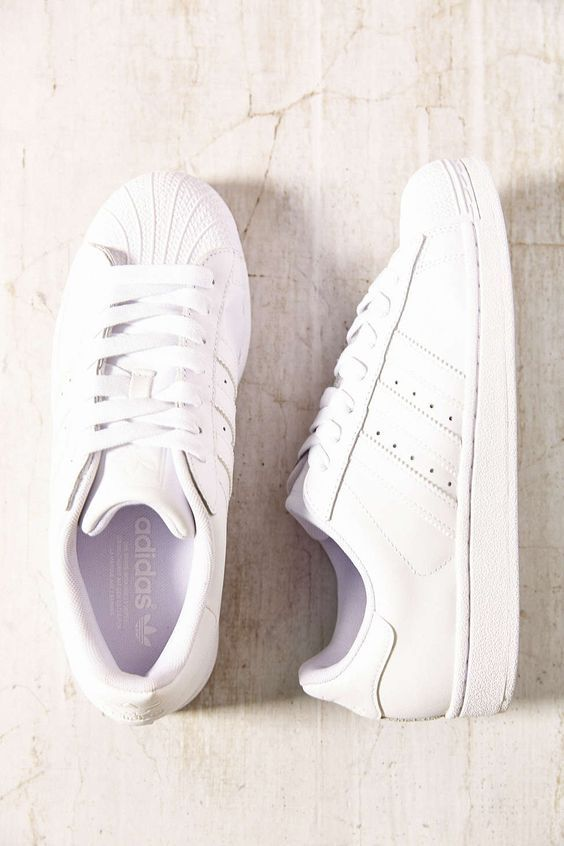 Adidas Superstar All White Womens