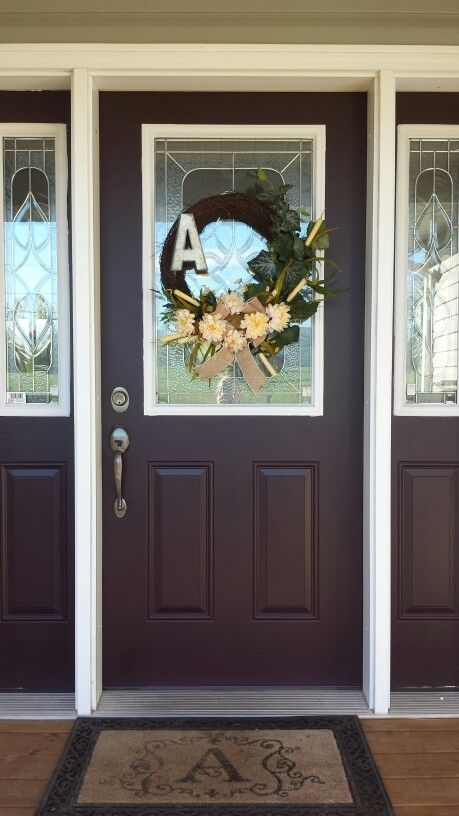 Painted Front Door Ideas Exterior Colors