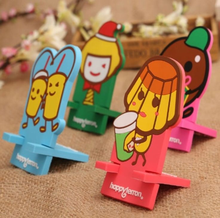 Silica Gel Cartoon Mobile Phone Stand.  Price at : $0.20/piece.