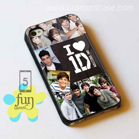 I Love One Direction iPhone 5 Case Cover from Funcases