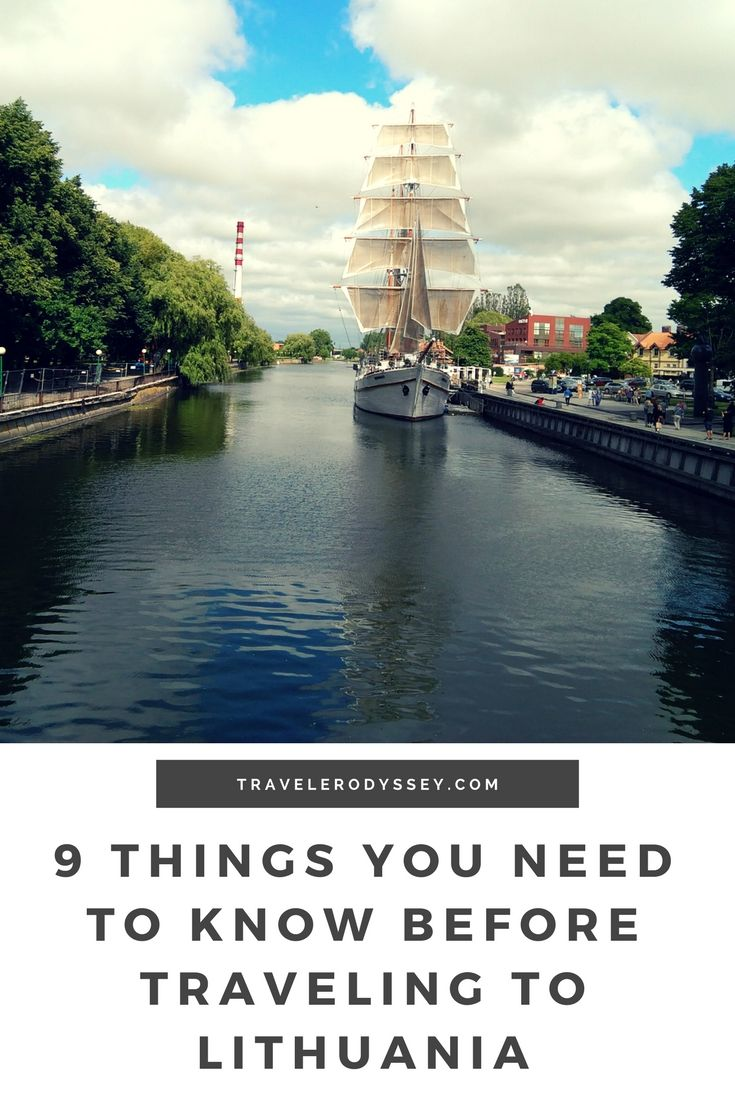 9 things you should know before planning your trip to Lithuania |  Visit Lithuania |  travelerodyssey,com