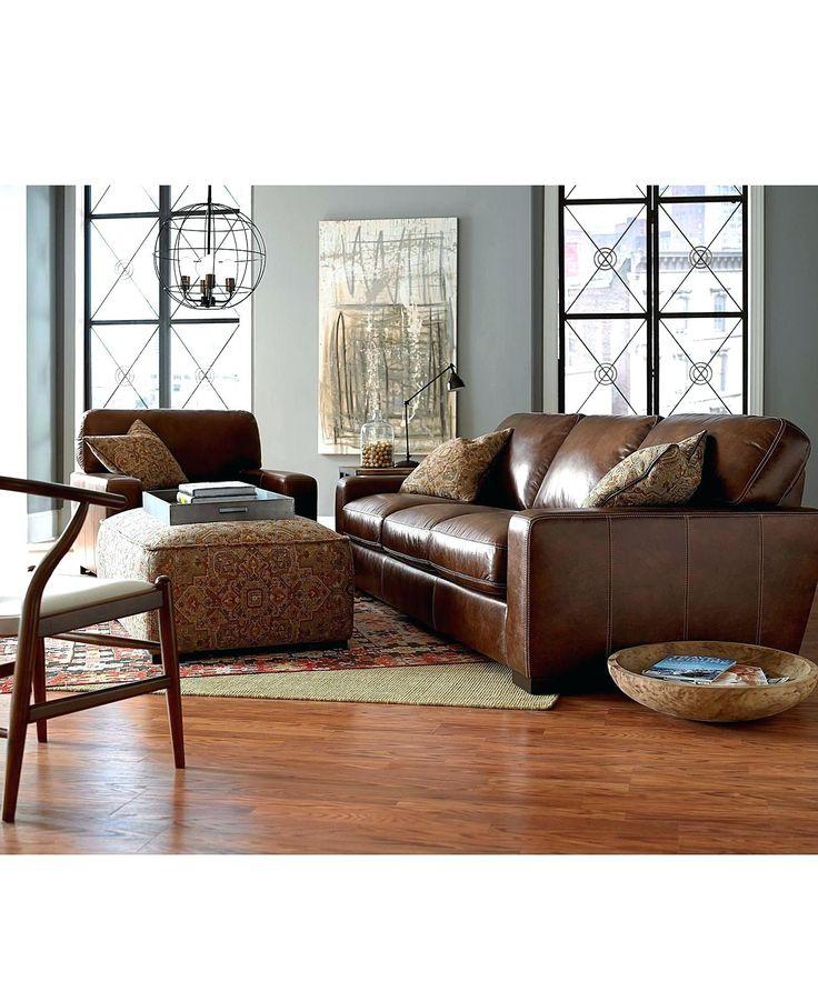 Macys Leather Sofa Sets