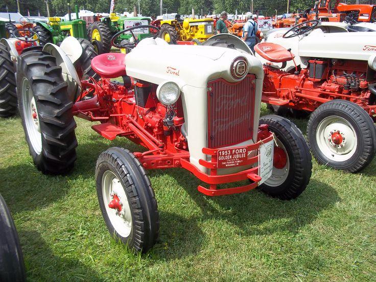 Ac E B Fd Ac F Ford Tractors Farming