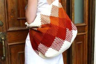 The Weekender Bag, by Sara Dudek, via Ravelry
