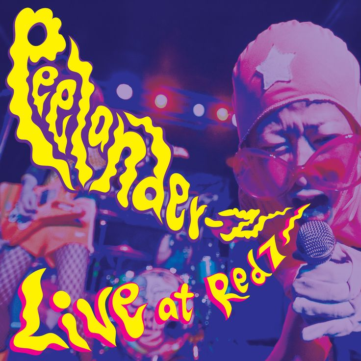 Peelander-Z Live at Red 7 album cover