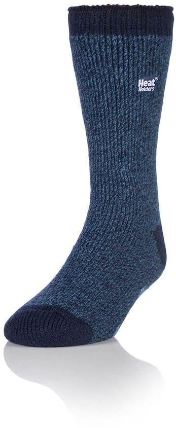 Heat Holders Men's Heat Holders Twist Thermal Crew Slipper Socks