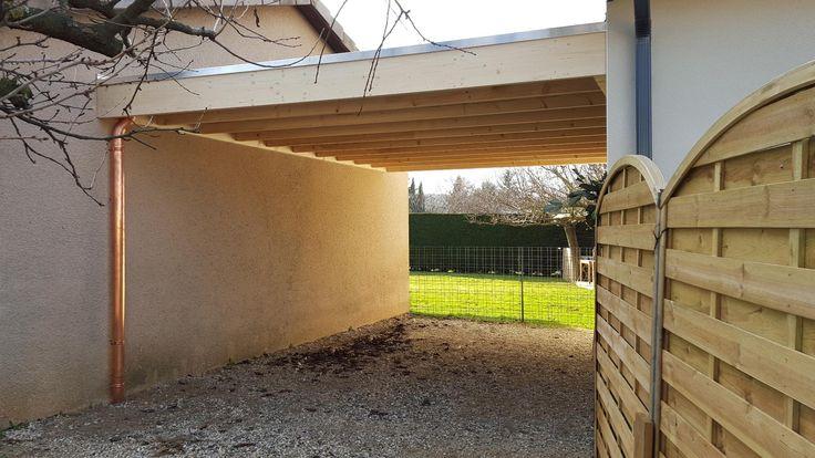 Aménagement extérieur à Lièpvre, Garage réalisé par MisterBois Voir