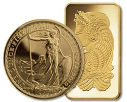 UKBullion.com offers a wide range of gold bullion in the form of bars and coins. Current promotions include Emirates gold DMCC. A 1gram certicard is only £34.74(price correct a 0940 BST 26/09/2016) which may just be the lowest priced 1gram gold bullion bar!