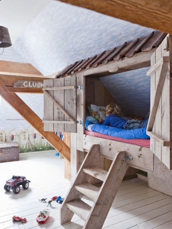 The boo and the boy treehouse beds kids 39 rooms from my for Treehouse toddler bed