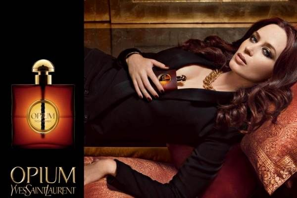 Description: opium is classified as a refined, oriental, soft fragrance . This feminine scent begins with notes of mandarin and bergamot, then myrrh, jasmine and carnation. It is completed with a final note of amber  Designer by: YVES SAINT LAURENT Release Year: 1977