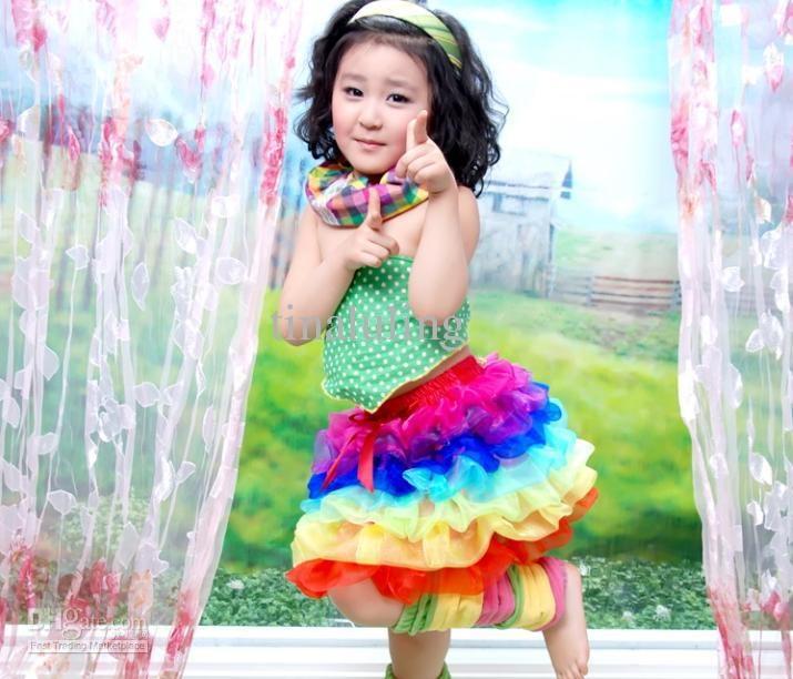 костюм радуги
