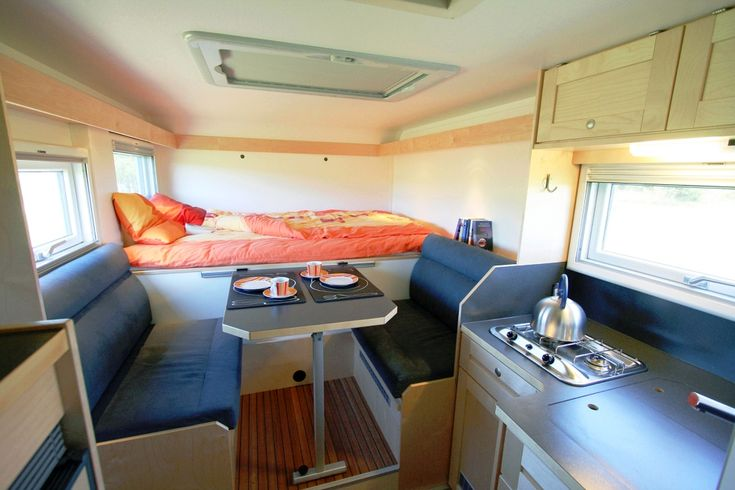 Small truck camper interior the ultimate off road camper for Truck camper interior ideas