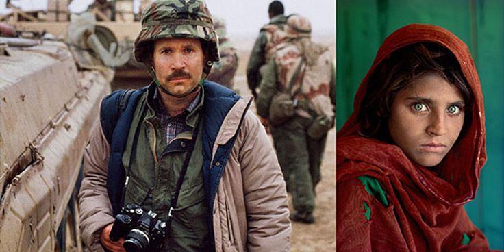 """A história por trás da fotografia """"A Menina Afegã"""""""