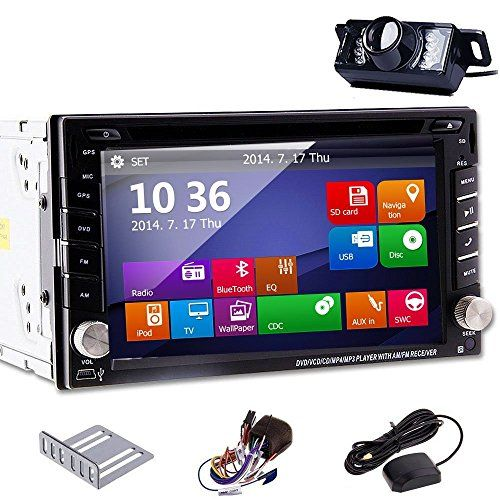 2 DIN In Dash Car Autoradio Stereo DVD Player GPS Navigation SAT 6.2 Inch LCD Touch Screen CD/MP3/MP4/USB/SD/AM/FM/Radio/Hands Free Bluetooth/Audio Free GPS Map Card+Free GPS Map+Free Backup Reversing Parking Camera - http://www.caraccessoriesonlinemarket.com/2-din-in-dash-car-autoradio-stereo-dvd-player-gps-navigation-sat-6-2-inch-lcd-touch-screen-cdmp3mp4usbsdamfmradiohands-free-bluetoothaudio-free-gps-map-cardfree-gps-mapfree-backup-reversing/  #Autoradio, #Backup, #Blue