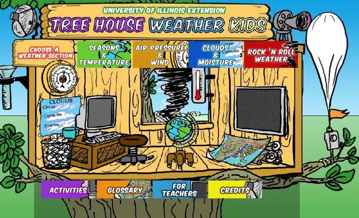 FREE WEATHER RESOURCE~  Online activities to learn about weather, seasons, air pressure, clouds, and more!