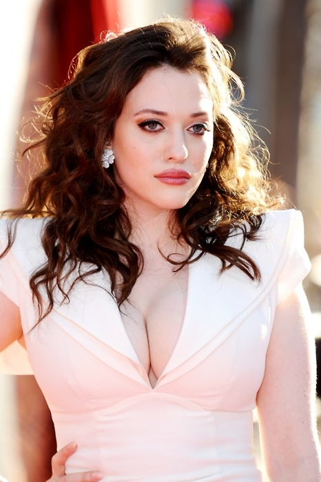 Kat Dennings. Not only is her body perfect, her face is stunning, she's a phenomenal actress, just amazing all around (: