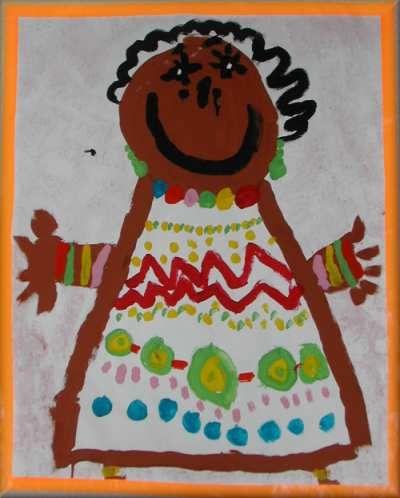 AFRIKA: Schilderactiviteit + schrijfpatronen