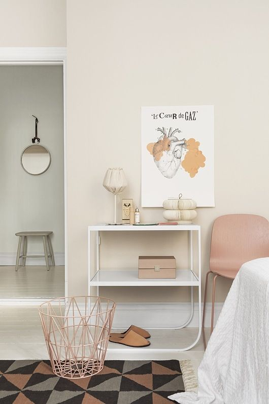 Thanks Monica! Blush pink walls + F+B French Gray in the back?