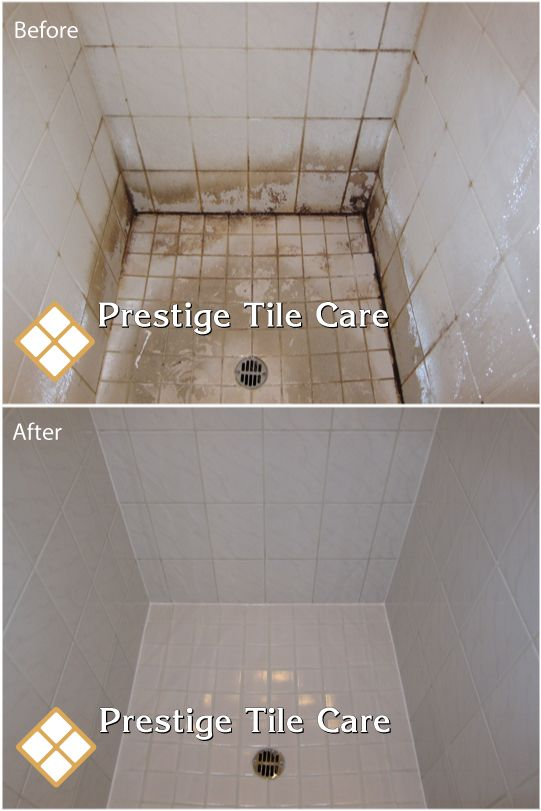Cleaning Years Of Soap S In Tile Shower