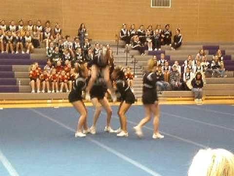 Capital High School Cheer Stunt Group
