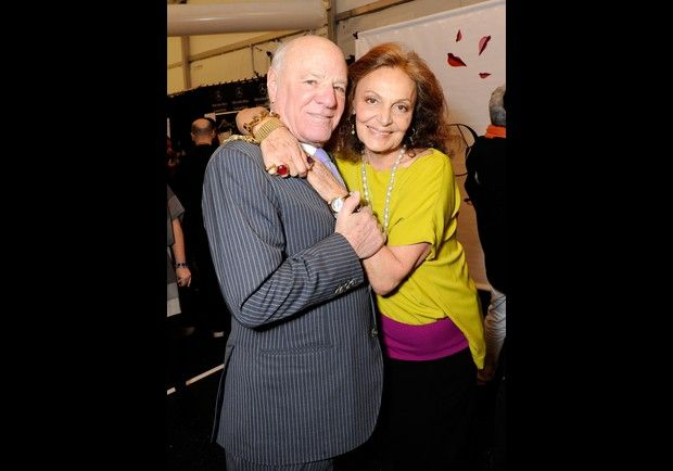 Diane von Furstenberg and Barry Diller      Designer von Furstenberg is one of fashion's leading ladies and is married to billionaire Diller, the chair and CEO of online media company IAC.