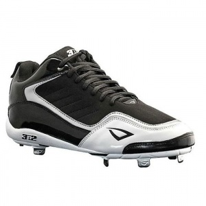 Mens 3N2 Viper Baseball Cleats Black Leather - ONLY $99.99