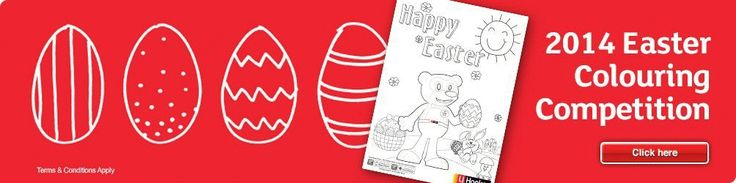 #WIN a family pass to the Sydney Royal Easter Show. Colouring In Competition. Happy Easter