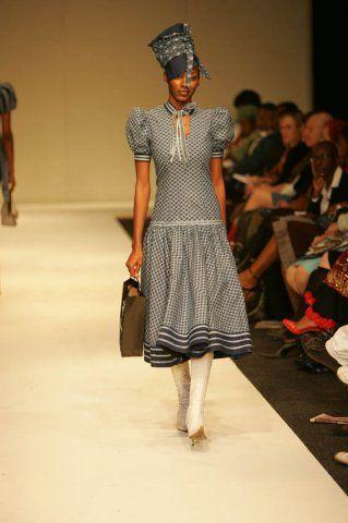 I'll prefer this just below the knee though! Designer - Bongiwe Walaza #AfricaFashion #AfricanPrints