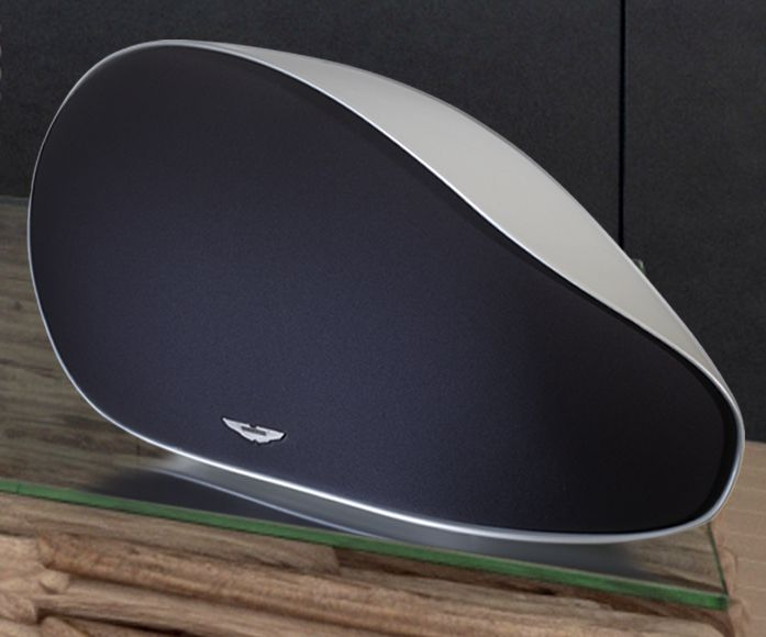 Aston Martin Zygote - a luxurious wireless audio system for your home. Designed and developed by Audiomoda for Aston Martin's Lifestyle Collection.