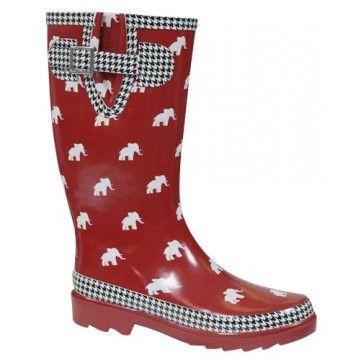 Alabama Elephant Rain boot