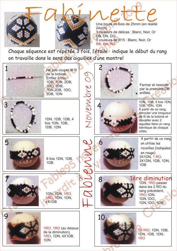 Fabinette - Photo de Mes schémas - Les perles de Fabienne
