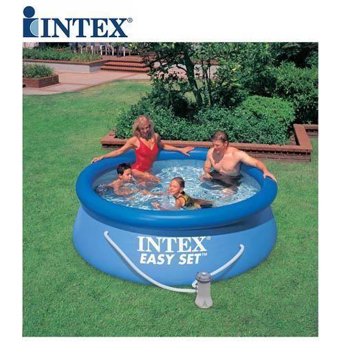 Cute Intex ft u Foot Easy Fast Set Family Childrens Swimming Paddling Garden Pool