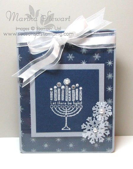 Happy Hanukkah by flmom - Cards and Paper Crafts at Splitcoaststampers
