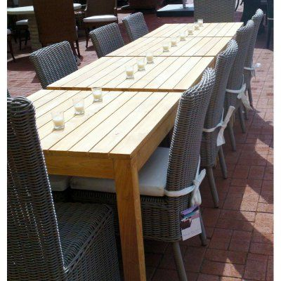 Outdoor Padma's Plantation Rustic 11 Piece Patio Dining Set - PAD435-1