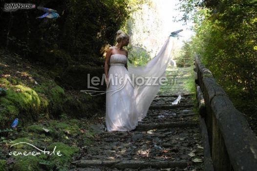 Un abito da sposa ispirato al mondo delle fiabe, per questa Cenerentola moderna, sposa romantica... http://www.lemienozze.it/operatori-matrimonio/vestiti_da_sposa/atelier-sposa-milano/media