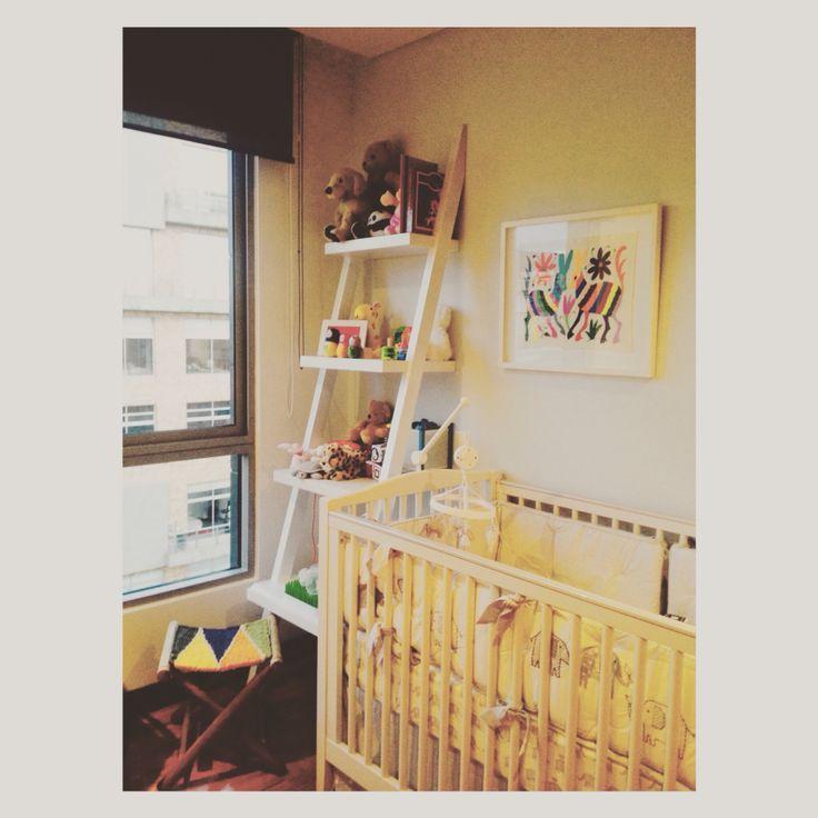 Baby Room. Furniture Design. // Diseño de mobiliario para cuarto de bebé hecho por Denken. #DenkenBabies
