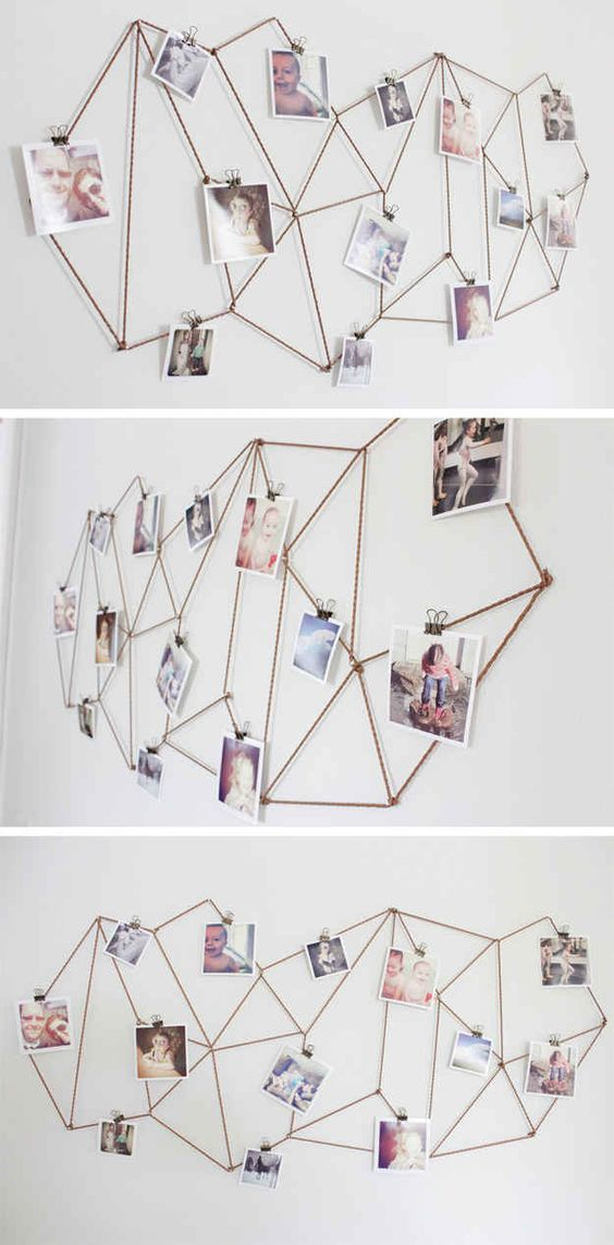 Blanco y de madera: 6 ideas sencillas para decorar con fotos