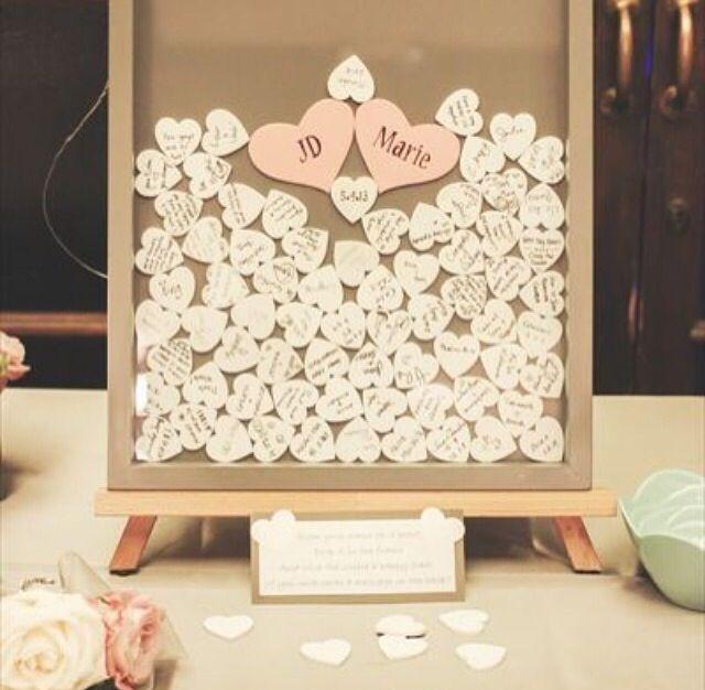 Recadinho para os noivos