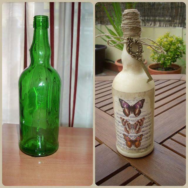 El Taller de la Artes Ana: Botellas recicladas