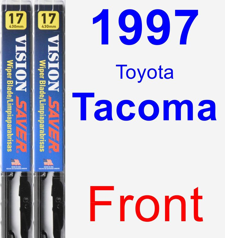 Front Wiper Blade Pack for 1997 Toyota Tacoma - Vision Saver