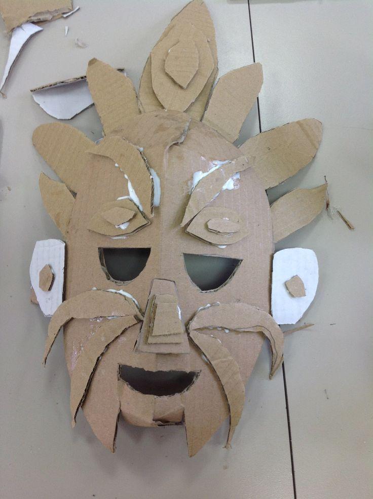 תוצאת תמונה עבור cardboard mask picasso