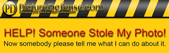 PictureDefense: Step By Step what to do if someone steals your images.