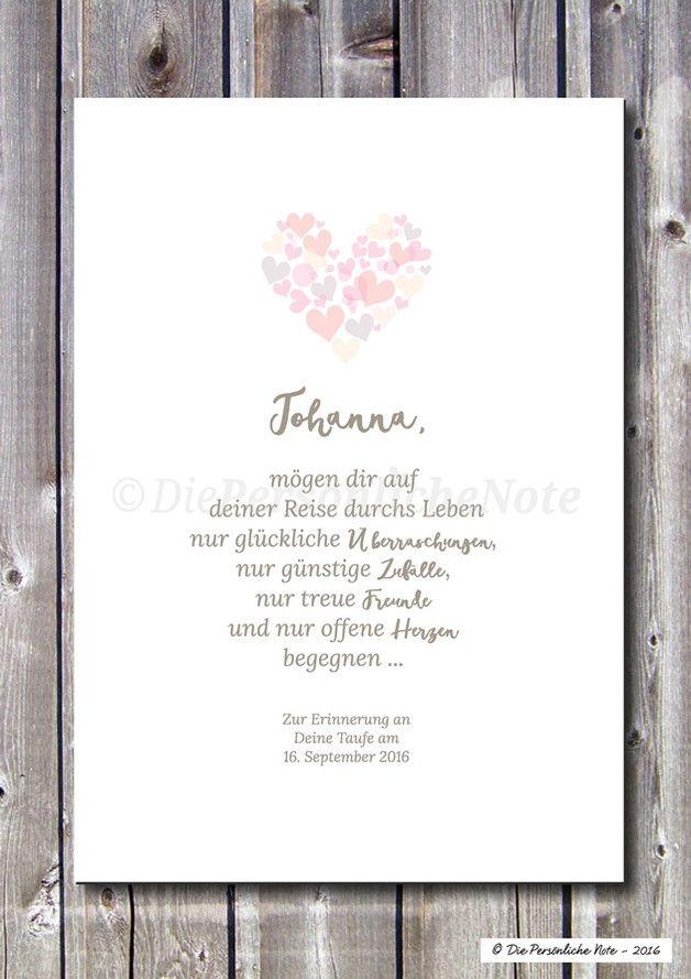 Druck/Print: Segenswunsch - Glückliche Lebensreise