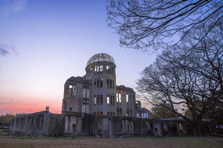 Hiroshima Peace Memorial (Atomic Bomb Dome) [OC] [2000x1333]