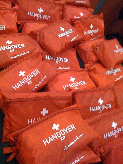 Favorite -  Hangover kit by Fellowship of the Rich, via Flickr