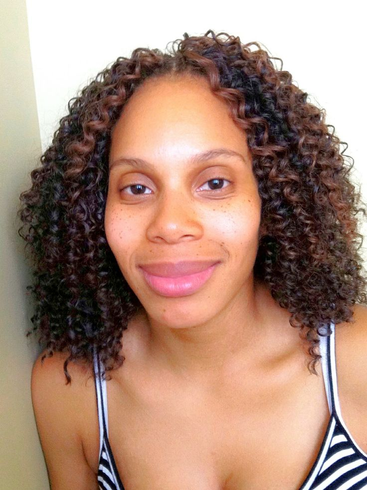Crochet Braids with Freetress Water Wave in color 4B/30. www ...