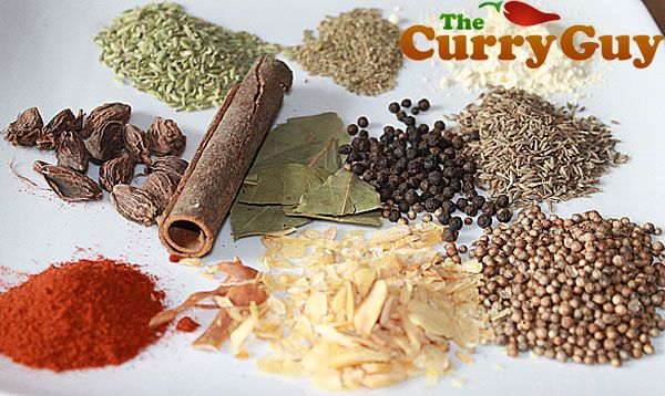 This is a picture of the spices that go into home-made curry powder. I forgot to include the fenugreek seeds that are in the recipe but I think you'll get the idea. Freshly roasted and ground spices make the best curry powders.