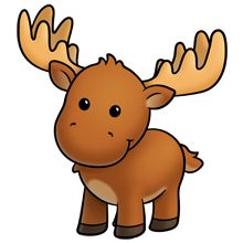 Moose face cartoon - photo#28