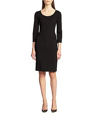 Armani Collezioni Double Face Jersey Dress · Jersey Dresses