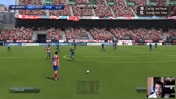 Let's Play Fifa 14 - #2 Atletico Madrid vs Bayern Munchen (Online Season)